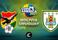 ◉ Vía VTV | Uruguay - Bolivia en vivo; juegan por Copa América