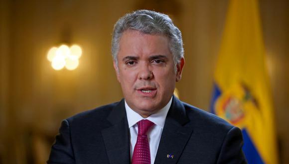 El presidente de Colombia, Iván Duque, habla durante una entrevista con Reuters en Bogotá, Colombia. (Foto: REUTERS / Luisa González / archivo).