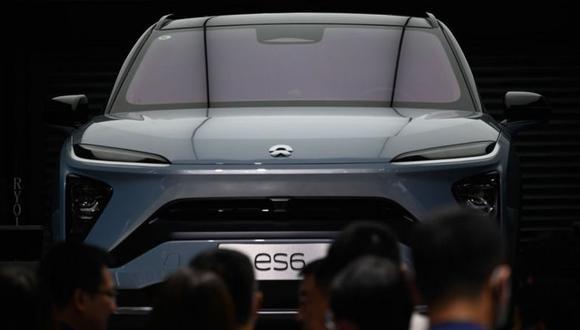 NIO estuvo presente en el Salón Internacional del Automóvil celebrado en Pekín a finales de setiembre. (Foto: Getty Images)