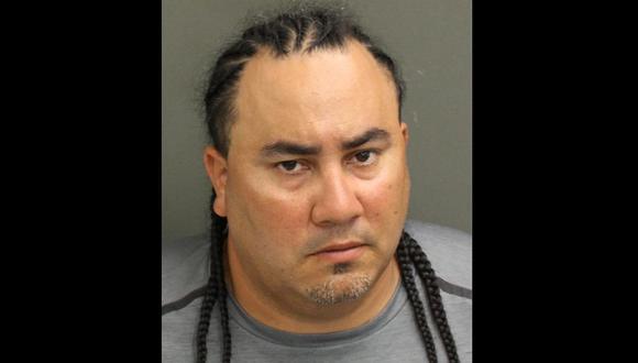 Kelvis Rodríguez-Tormes está detenido por el asesinato de Desmond Armond Joshua, de 22 años, un empleado de Burger King en Florida. (Oficina del Sheriff del Condado de Orange).