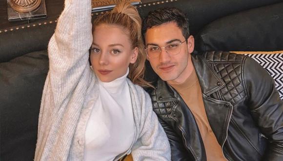 Alejandro Speitzer y Ester Expósito no ocultan su amor y se dedican mensajes en redes sociales. (Foto: Instagram)