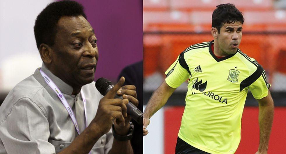 Pelé pide respetar decisión de Diego Costa de jugar para España