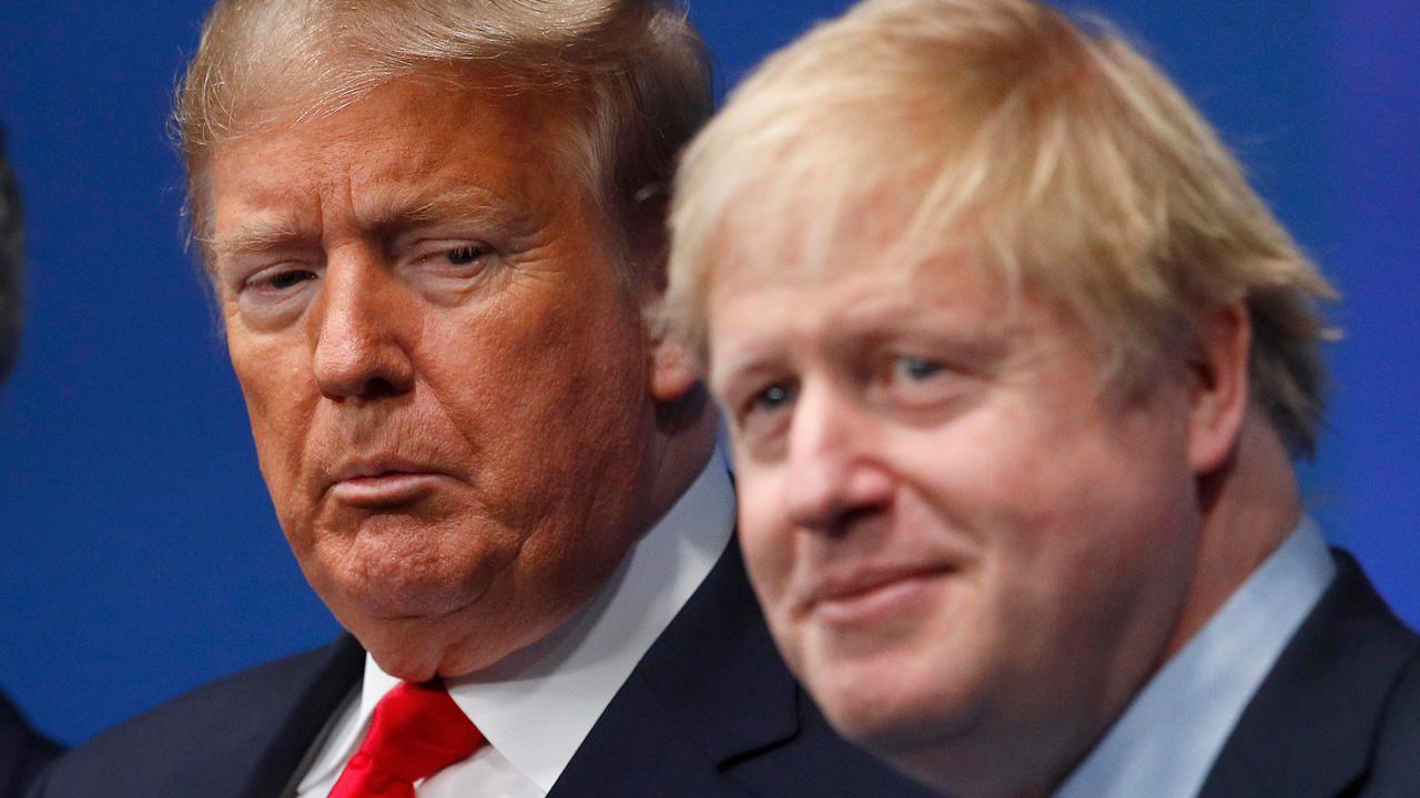Tanto Donald Trump como Boris Johnson se contagiaron de COVID-19.(AFP).