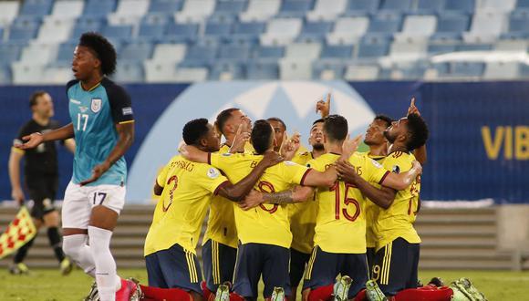 Edwin Cardona marcó el único tanto de Colombia en la primera fecha del Grupo B de la Copa América (Foto: AFP)