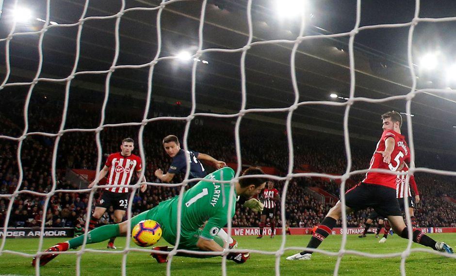 Ander Herrera marcó el segundo gol para el Manchester United en el encuentro ante Southampton. (Foto: AFP).