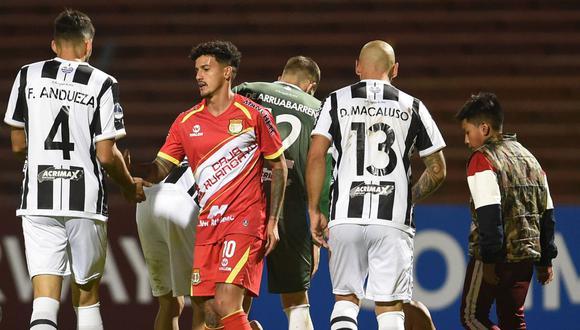 Montevideo Wanderers empató de visita 1-1 ante Sport Huancayo y clasificó a la segunda fase de la Copa Sudamericana 2019. (Foto: AFP)