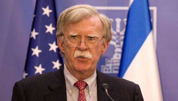 John Bolton, asesor de Seguridad Nacional de Estados Unidos, dijo que Irán representa una amenaza para la paz internacional. (AFP).