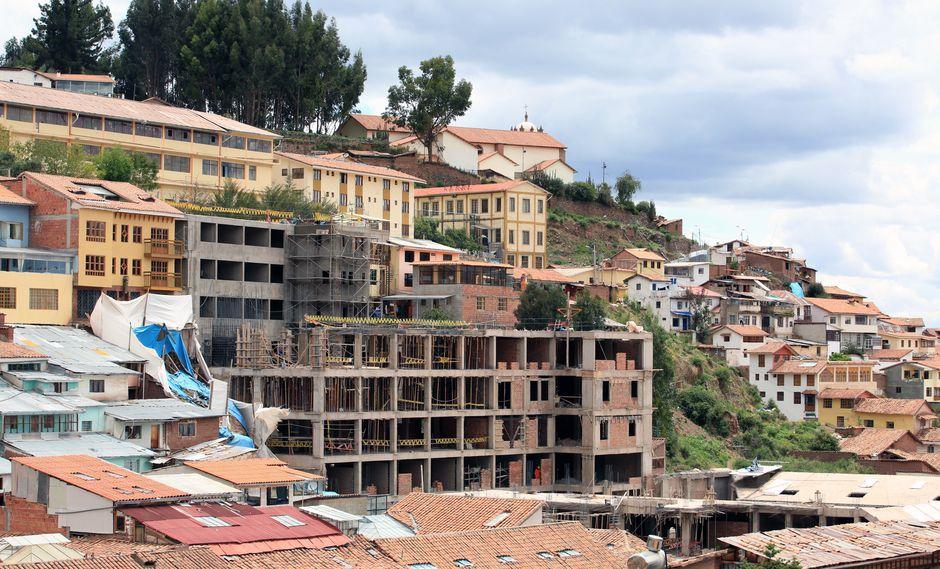R&G S.A.C. construyó un edificio de 10 pisos en el Centro Histórico de Cusco. (Foto: archivo El Comercio)