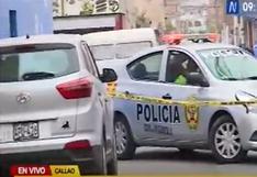 Callao: miembro de la Marina fue asesinado a balazos cuando visitaba a sus familiares