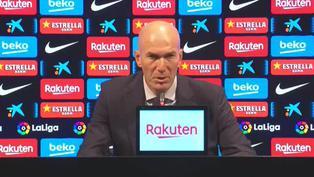 """Zidane: """"Independientemente del penalti, creo que merecemos la victoria"""""""