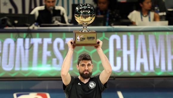 NBA All Star 2019: concurso de triples.   Foto: Agencias