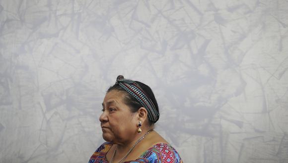El Comercio conversó con la ganadora del premio Nobel de la Paz en 1992, Rigoberta Menchú, sobre su país, la situación en Venezuela y los cuestionamientos a su historia. (Rolly Reyna / El Comercio)