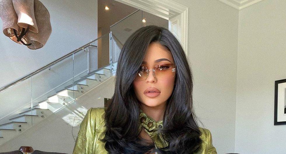 La popular Kylie Jenner subió unas fotografías a Instagram desde la intimidad de su hogar.  (Foto: Instagram)