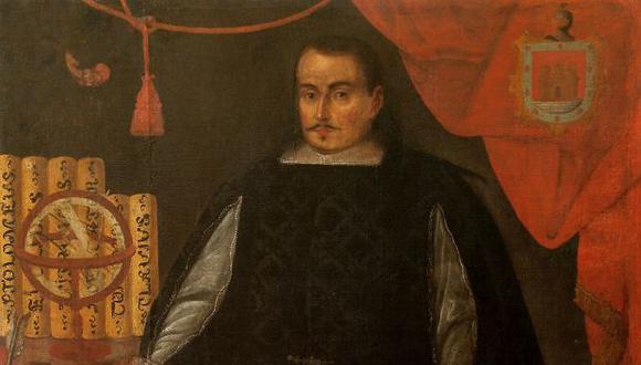 Anónimo. Francisco Ruiz Lozano, 1677. Museo de Arte de la Universidad Nacional Mayor de San Marcos.