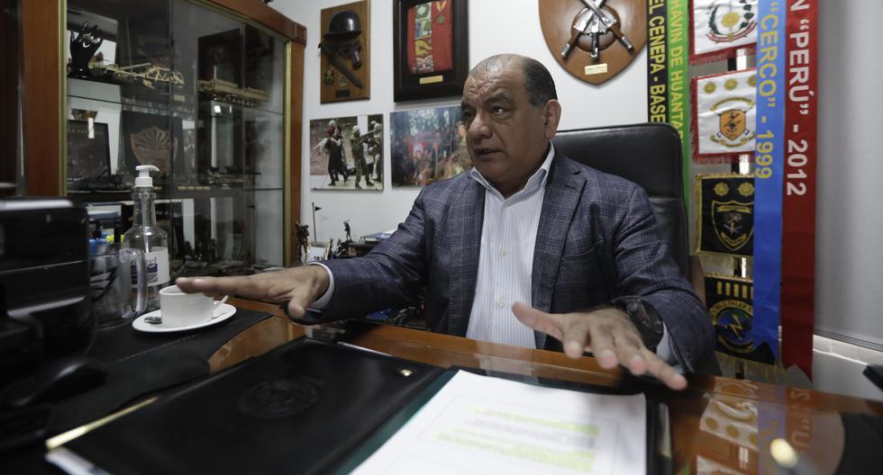 César Astudillo fue hasta julio jefe del Comando Conjunto de las Fuerzas Armadas. (Foto: Anthony Niño de Guzmán / El Comercio)