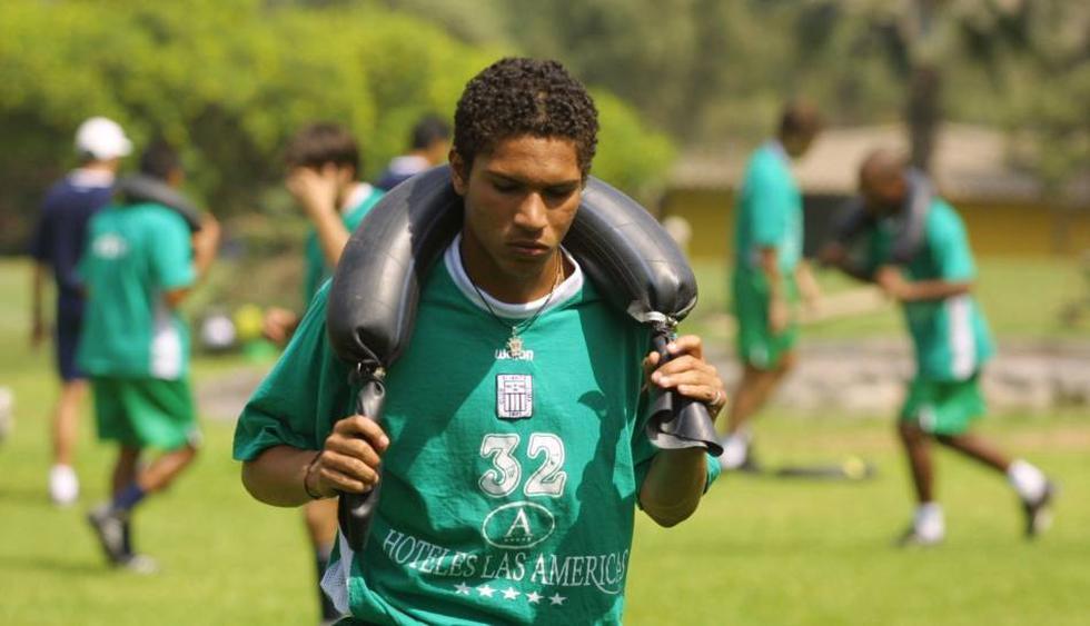 Paolo Guerrero entrenando con Alianza Lima. (Foto: Archivo El Comercio)