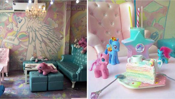Unicorn Cafe: este local te transportará a un mundo de fantasía