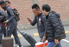 Selección peruana llegó a Lima para revancha ante Uruguay este martes en el Nacional