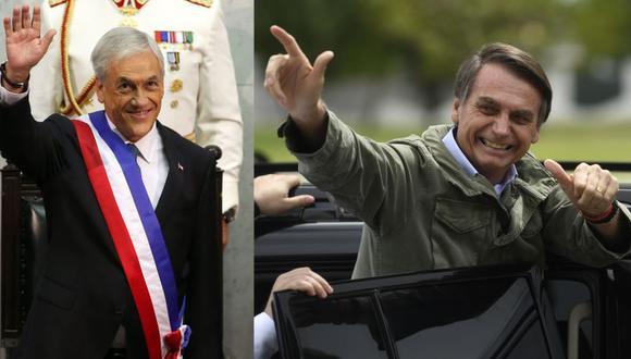 Chile será el primer país que Jair Bolsonaro visitará tras ganar elecciones en Brasil. (AFP)