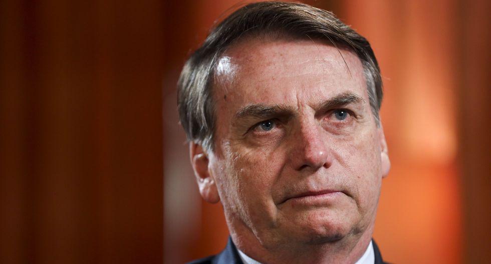 Jair Bolsonaro dice que las ONG podrían estar provocando incendios en la Amazonia de Brasil. (Bloomberg).
