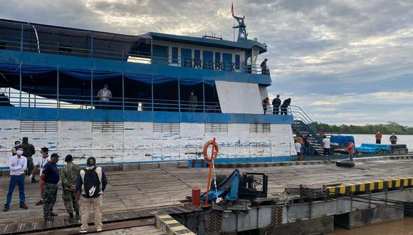 Nueve de los 15 pasajeros de la embarcación no tenían autorización para navegar e incumplieron el aislamiento obligatorio. (Foto: Hugo Anteparra)