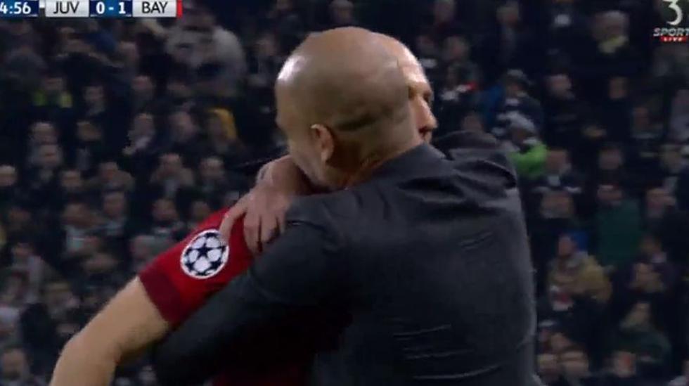 CUADROxCUADRO del golazo de Robben y su festejo con Guardiola - 13