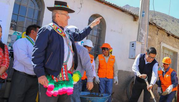PPK se pronunció luego de que la congresista Martha Chávez cuestionara designación de Vicente Zeballos como representante del Perú ante la OEA. (Foto: Presidencia)