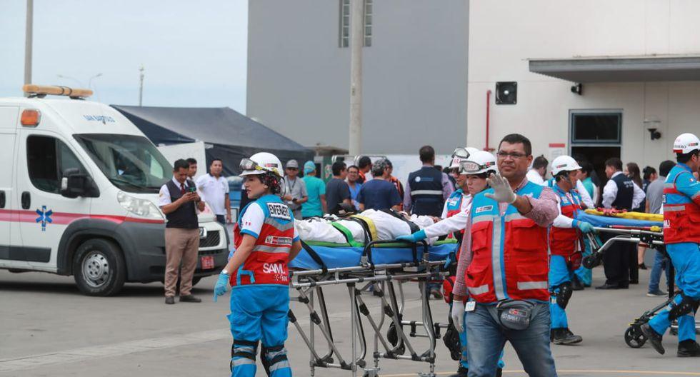 Catorce personas fallecieron como consecuencia de la tragedia en Villa El Salvador (Foto:  Lino Chipana / GEC).