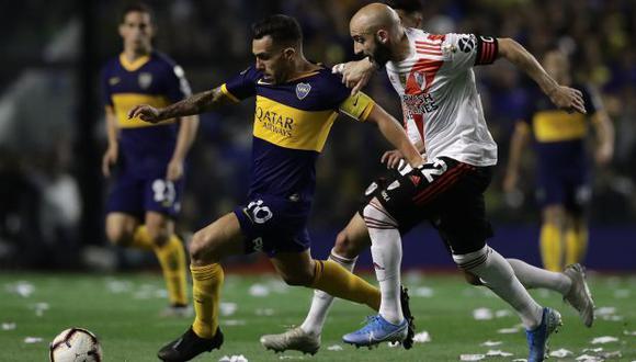 Boca Juniors y River Plate chocarán en La Bombonera por la Fase Campeón de la Copa Diego Maradona. (Foto: AFP)
