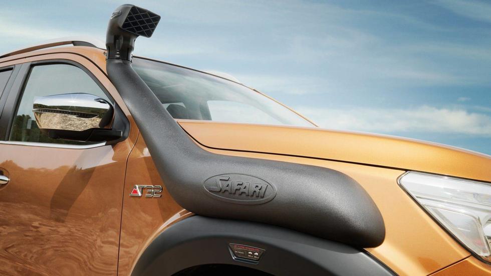 Esta versión extrema del Nissan Navara ofrece mejores prestaciones para la aventura off road. (Fotos: Nissan).