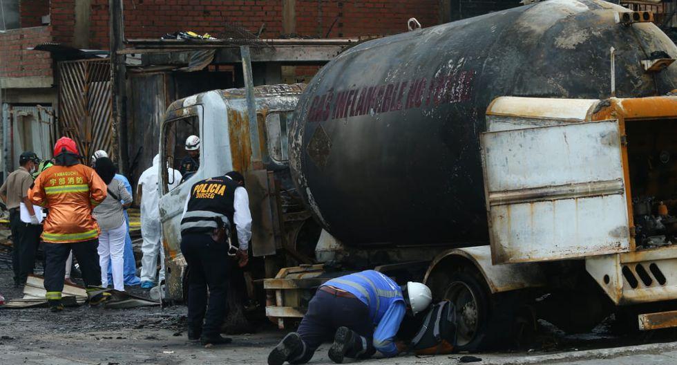 El GLP es transportado y almacenado en cilindros y tanques. En estado de vapor es más pesado que el aire, por lo que cuando ocurre fugas se va hacia las partes bajas. (Foto: Gonzalo Córdova)