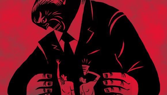 """""""En los últimos años, hemos visto cómo el poder ha venido concentrándose en gobiernos autoritarios, tanto de derecha como de izquierda"""". (Ilustración: Víctor Aguilar Rúa)."""
