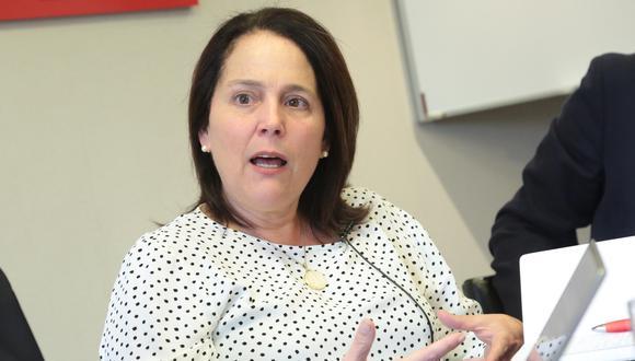 """""""¿Están ofreciendo alguna solución para las personas que tienen más de 60 años y que no van a trabajar el siguiente año?"""", dijo Leonie Roca, presidenta de AFIN. (Foto: GEC)"""