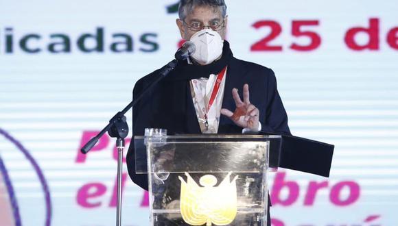 El jefe de Estado señaló que le corresponderá a la gestión de Pedro Castillo firmar un nuevo contrato con el laboratorio Sinopharm. (Foto: Jorge Cerdan/@photo.gec)