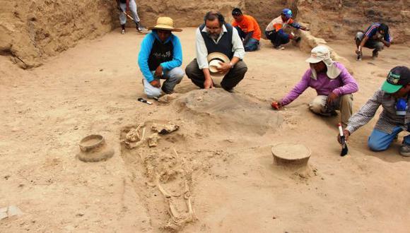 Lambayeque: hallan 14 tumbas pre incas y un templo Mochica