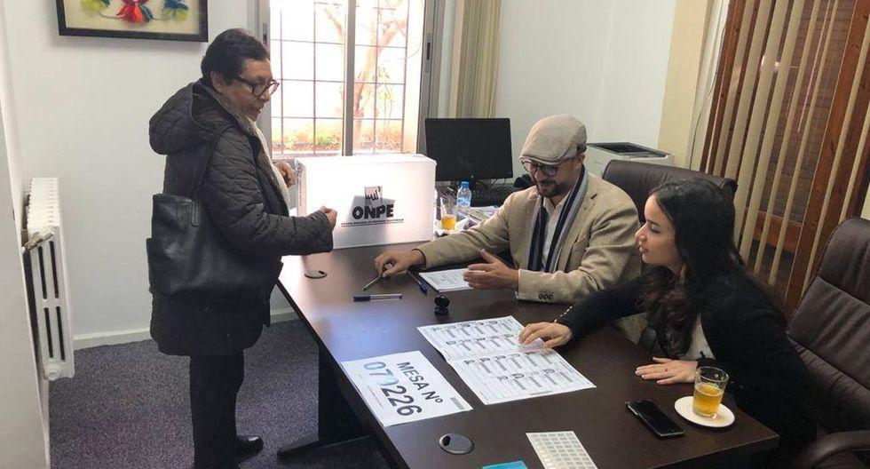 En Marruecos se habilitó una mesa de votaciones en Rabat. (Foto: embajada del Perú en el reino de Marruecos)