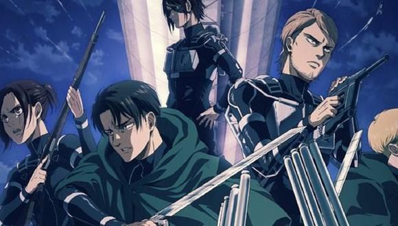 """Estos son los exploradores más fuertes de la Legión de Reconocimiento en """"Shingeki no Kyojin"""" (Foto: Wit Studio)"""