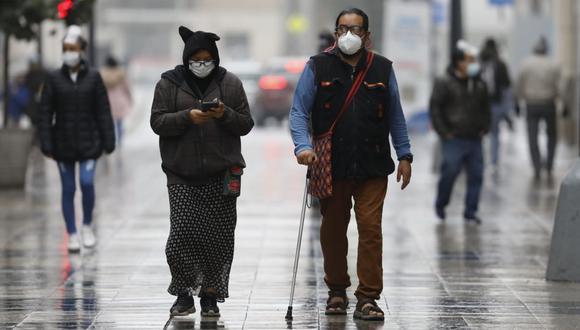 Lima registra bajas temperaturas en los últimos días. (Foto: César Bueno / @photo.gec)