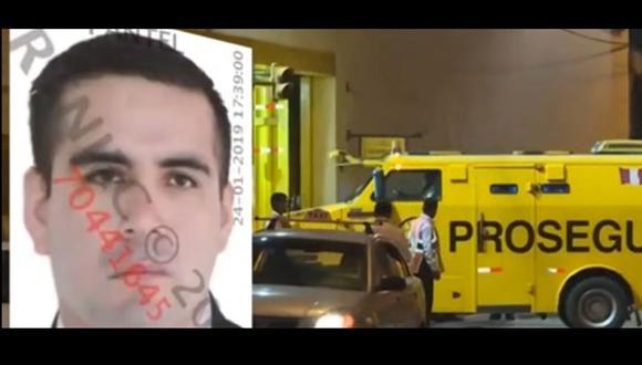 Lionel Saavedra Pari, el ex agente de seguridad de la empresa Prosegur acusado de robar más de S/2 millones fue capturado en Argentina. (Captura: 24 Horas)