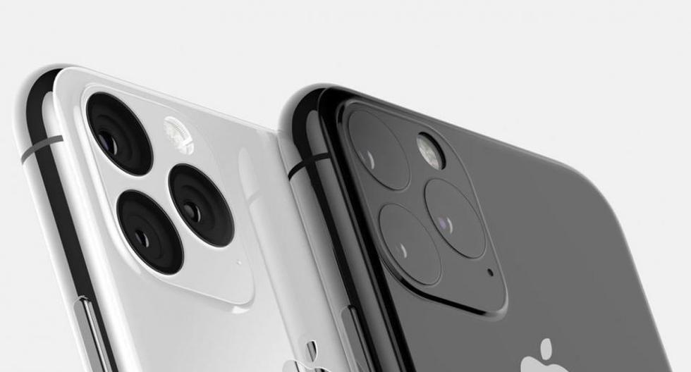 Las filtraciones muestran que el iPhone tendrá triple cámara. (Foto: BS)