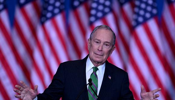 Michael Bloomberg fue alcalde de Nueva York. (AFP / Johannes EISELE).