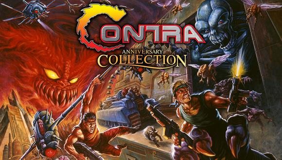 Contra Anniversary Collection costará US$ 19,99 y estará disponible para PS4, Nintendo Switch, Xbox One y PC. (Difusión)