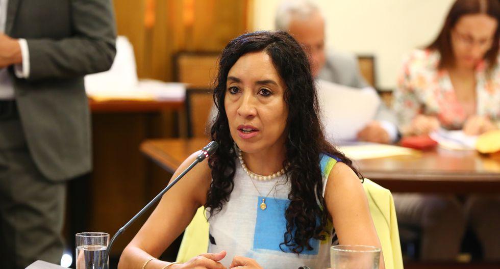 Giovanna Prialé, presidenta de la asociación de AFP.