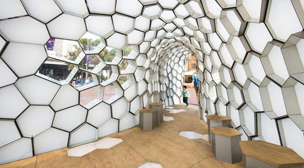 Como abeja reina: Conoce esta construcción que parece un panal - 2