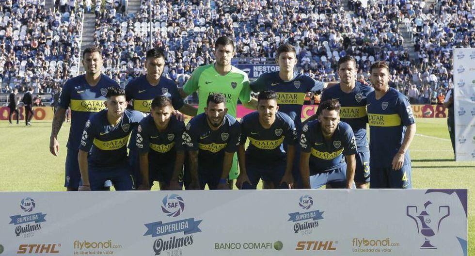 Boca Juniors vs. Gimnasia EN VIVO vía FOX Sports 2: juegan por la Superliga Argentina | Fecha 10°. (Foto: Boca Juniors)