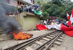 Cusco: Machu Picchu pueblo acata huelga indefinida contra el servicio de transporte ferroviario