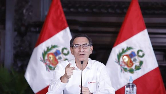 Martín Vizcarra aseguró que están atendiendo las deficiencias del sector salud para enfrentar el coronavirus. (Foto: Difusión)