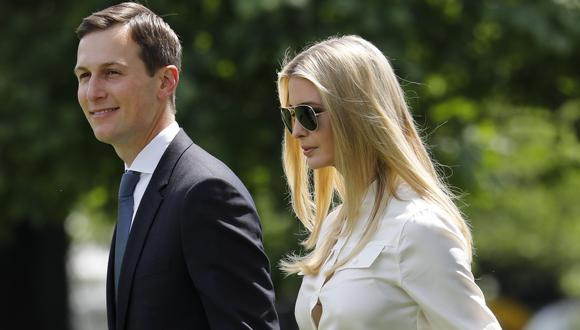 Ivanka Trump y su marido Jared Kushner ganaron al menos US$82 millones en el 2017. (Bloomberg).