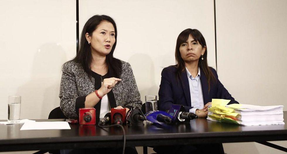 """Giulliana Loza consideró que """"la obsesión de estos fiscales con Keiko Fujimori será un caso de largo estudio en las facultades de Derecho"""". (Foto: GEC)"""