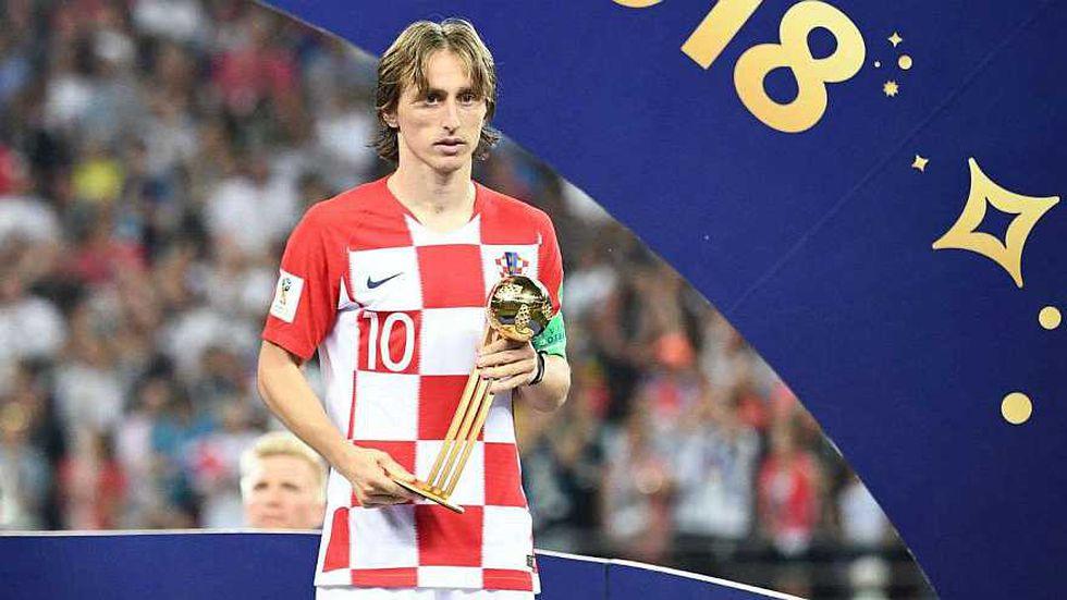 Y llegamos a Luka Modric. El croata ganó el Balón de Oro en Rusia 2018, luego de un gran Mundial. Sin embargo, su selección perdió en la final ante Francia. (Foto: AFP)